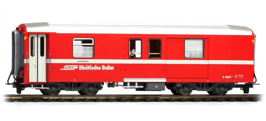 3248163 RhB D 4231 Packwagen neurot-1