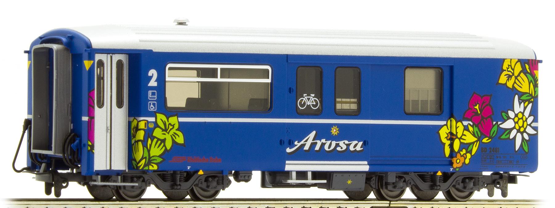 """3248141 RhB BD 2481 Packwagen """"Arosa Express""""-1"""