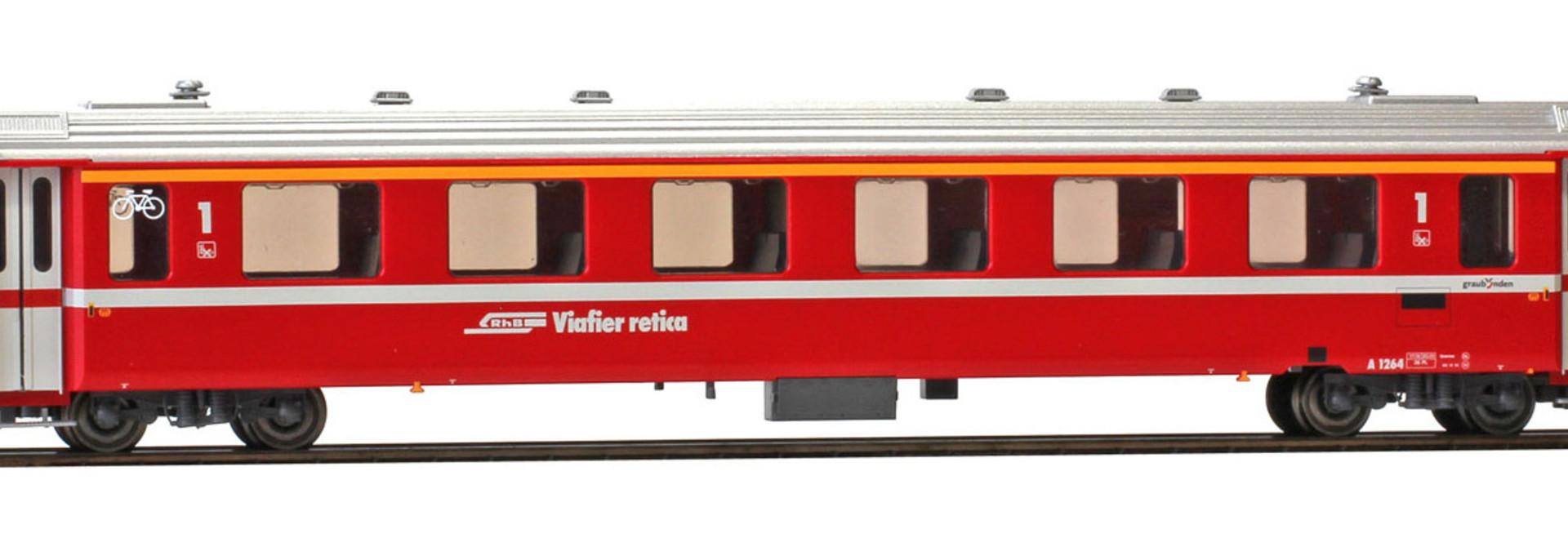 3242164 RhB A 1264 Einheitswagen II neurot