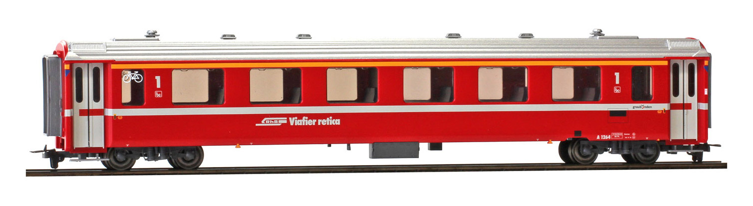 3242164 RhB A 1264 Einheitswagen II neurot-1