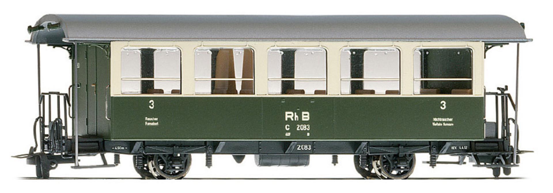 3238114 RhB C 2084 Zweiachser grün/beige
