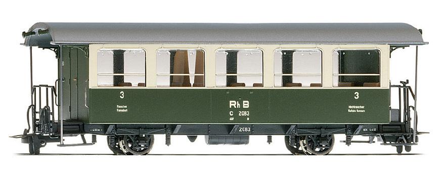 3238114 RhB C 2084 Zweiachser grün/beige-1