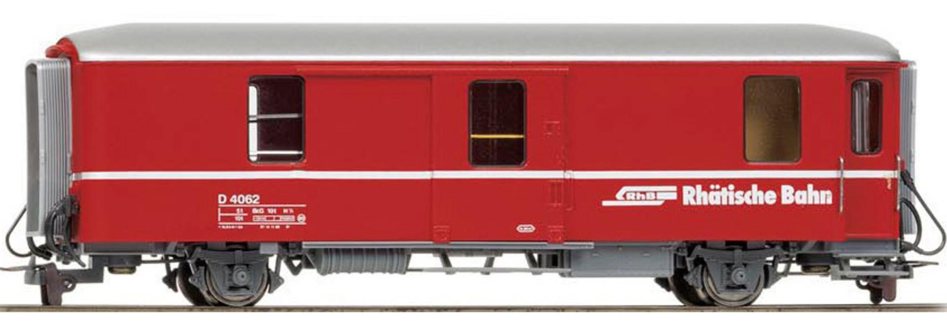3236112 RhB D 4062 Packwagen rot