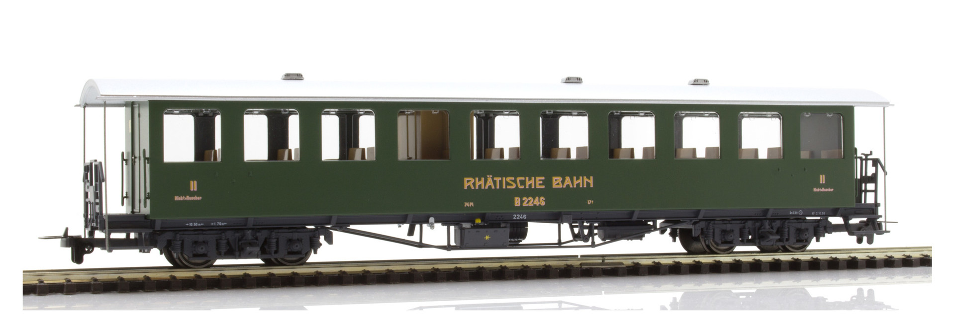 3235146 RhB B 2246 Nostalgie-Plattformwagen