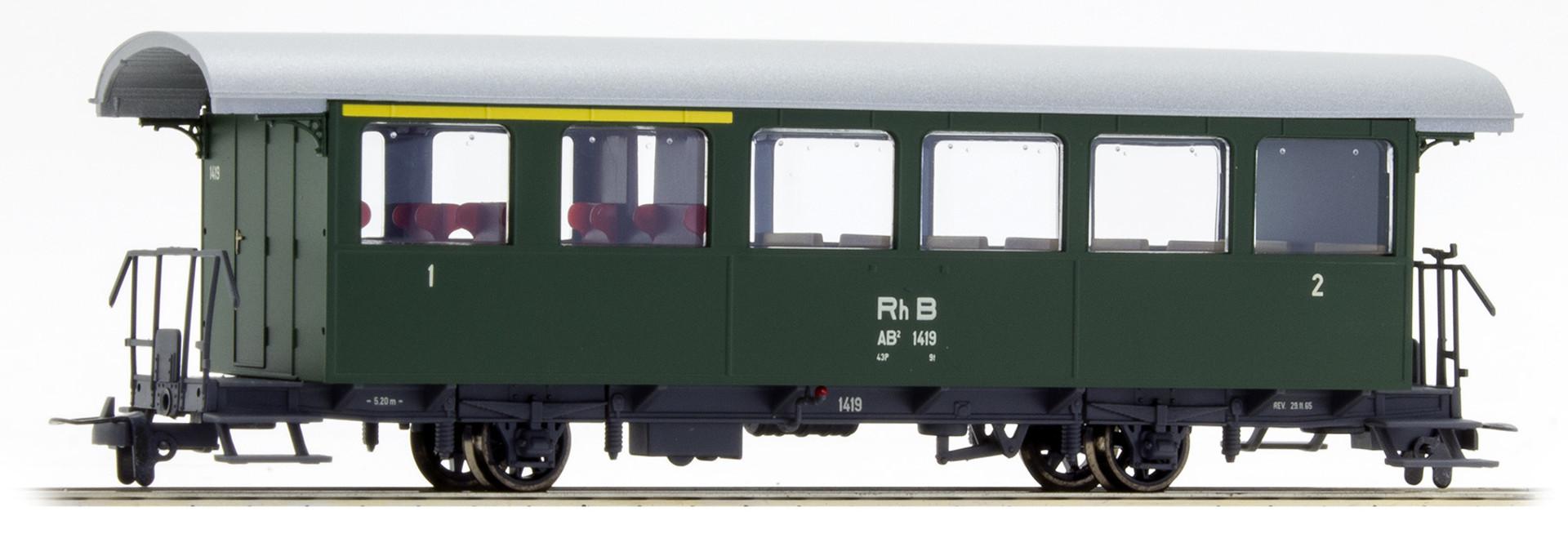 3233129 RhB AB2 1419 Zweiachser grün