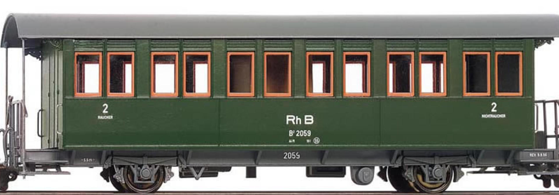 3230120 RhB B 2068 Zweiachser 60er Jahre