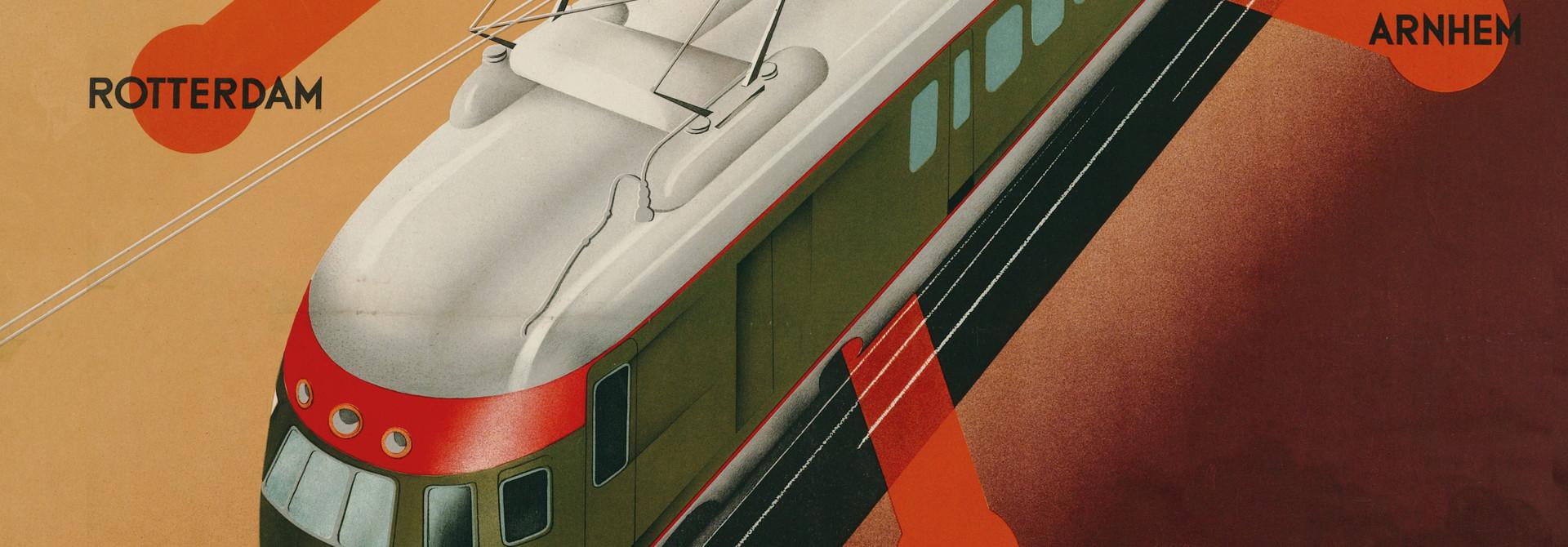 boek: 150 jaar Nederlandse Spoorwegaffiches