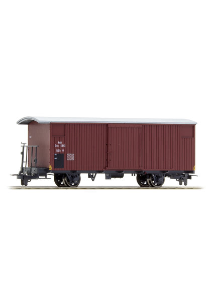 2293123 RhB Gbk-v 5613 gedeckter Güterwagen 70er-Jahre