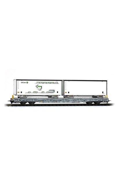 2291163 RhB R-w 8383 Tragwagen mit Schiebeplanen-WB