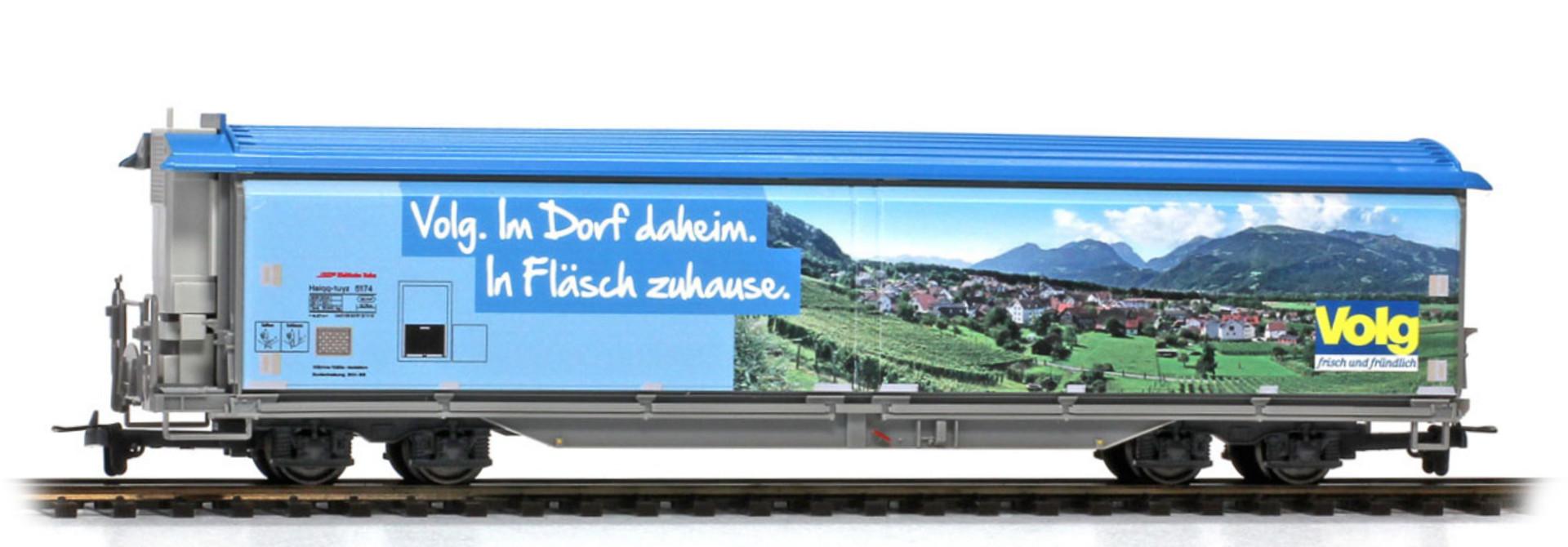 """2288168 RhB Haiqq-tuyz 5174 Volg """"Fläsch"""" mittelblau"""