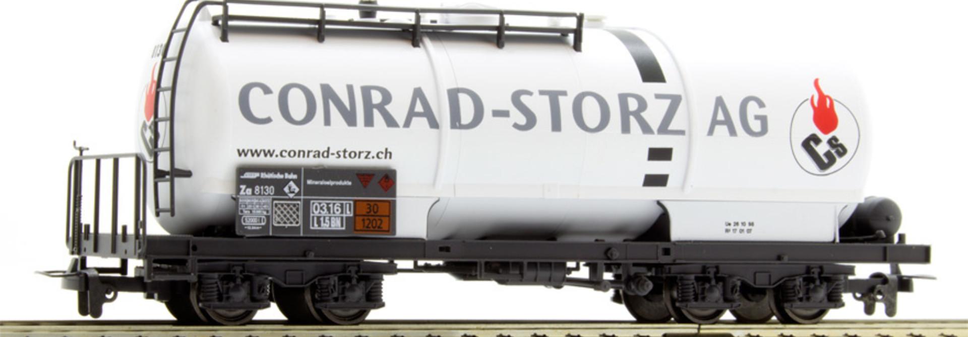"""2285140 RhB Za 8130 Kesselwagen """"Conrad-Storz"""""""