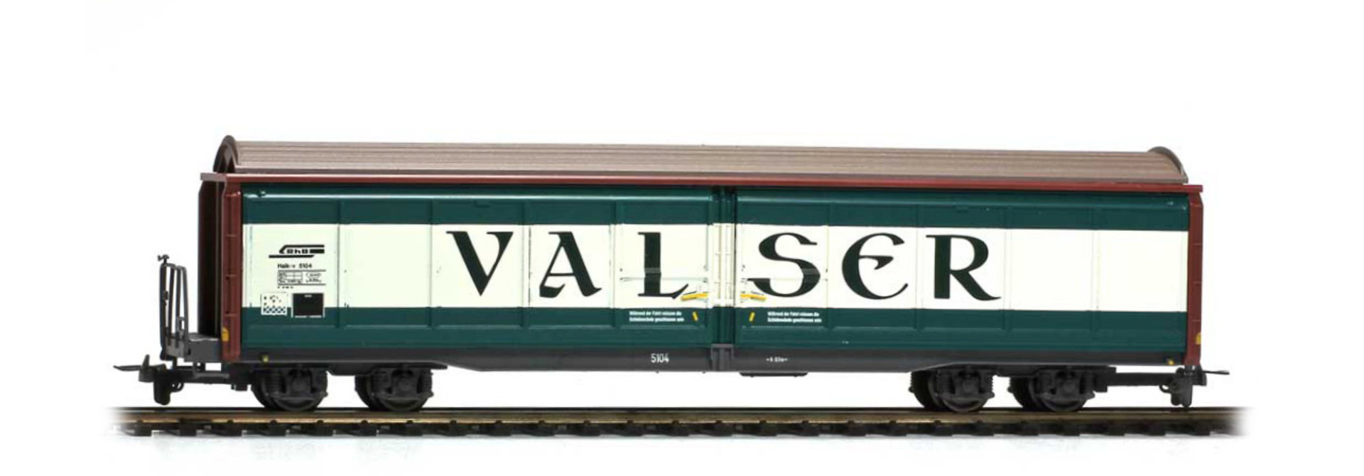 """2278124 RhB Haik-v 5104 Schiebewandwagen """"Valser"""""""