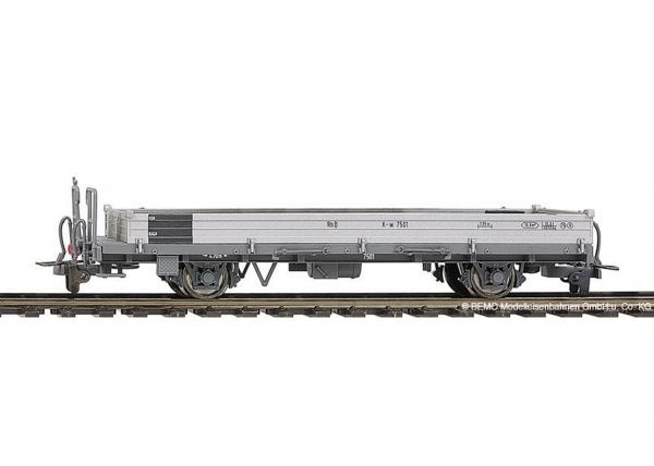 2267105  RhB K-w 7505 Stahlwand-Flachwagen-1