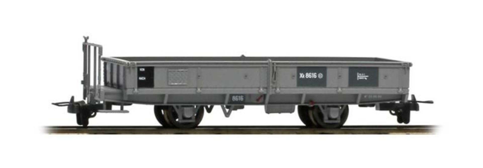 2257196 RhB Xk 8616 Bahndienst-Flachwagen grau
