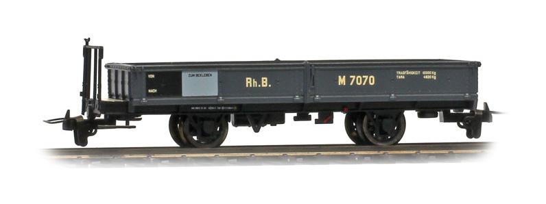 2257140 RhB M 7070 (WN 9853) Nostalgie-Niederbordwagen-1