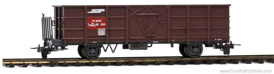 2255116 RhB Fb 8506 Hochbordwagen braun-1