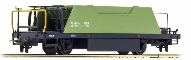 2253262 MGB Fd 4852 Schotterwagen blaßgrün-1