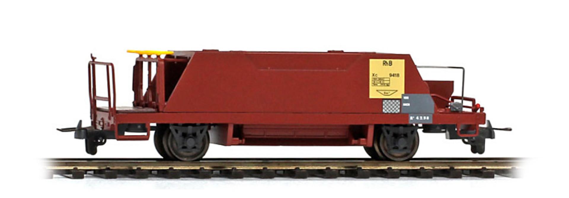 2253128 RhB Xc 9418 Schotterwagen braun