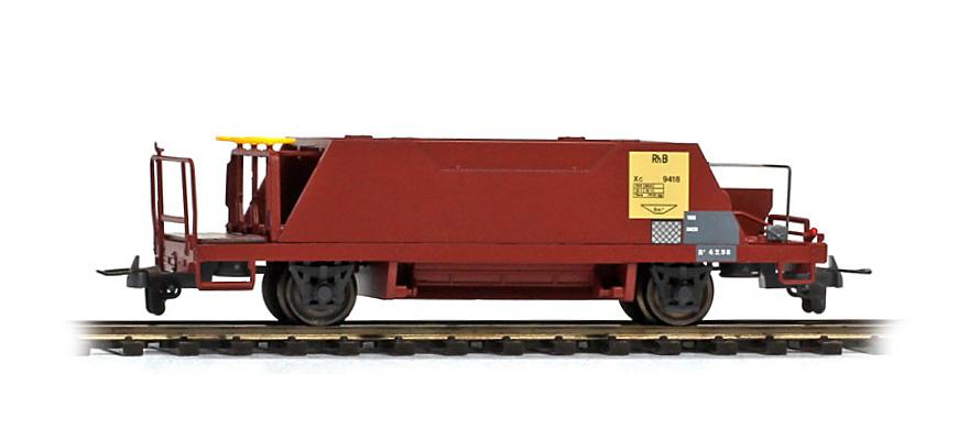 2253128 RhB Xc 9418 Schotterwagen braun-1