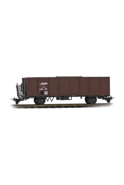 2251123 RhB E 6633 Hochbordwagen terrabraun