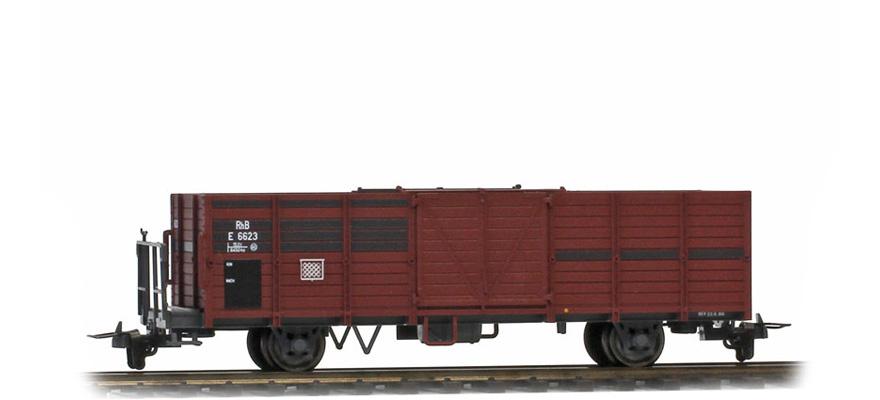 2251113 RhB E 6623 Hochbordwagen (Bretter ausgebessert)-1