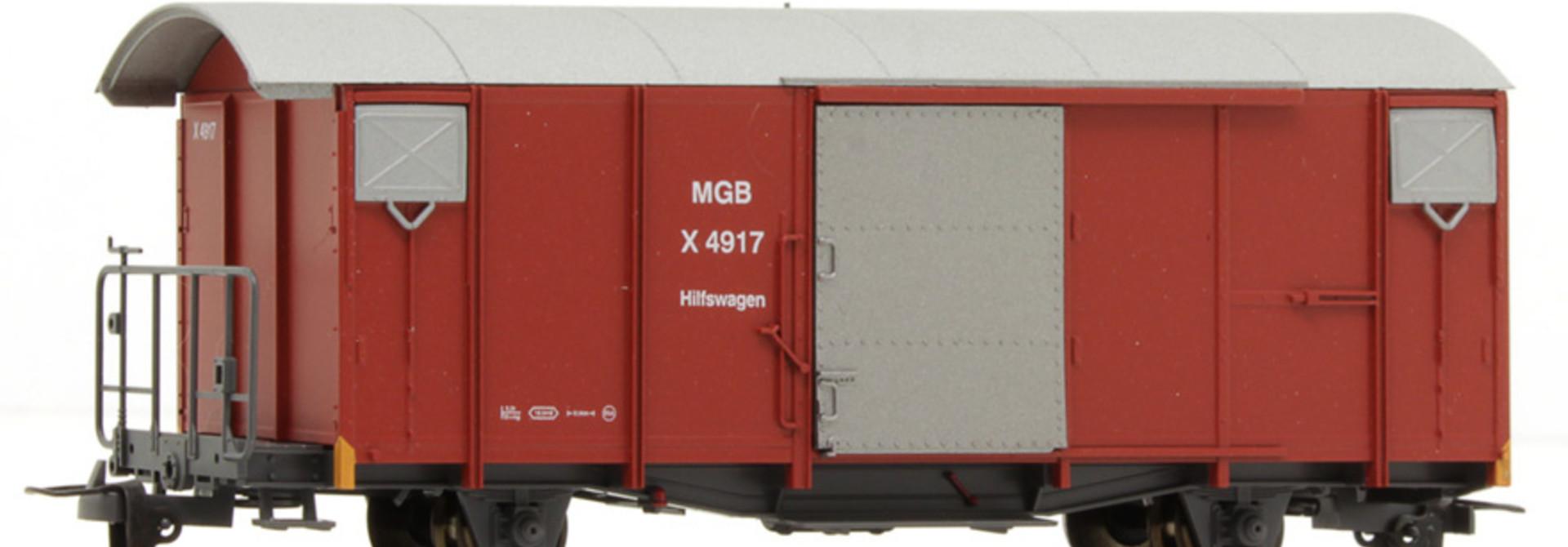 2250259 MGB X 4917 Hilfswagen