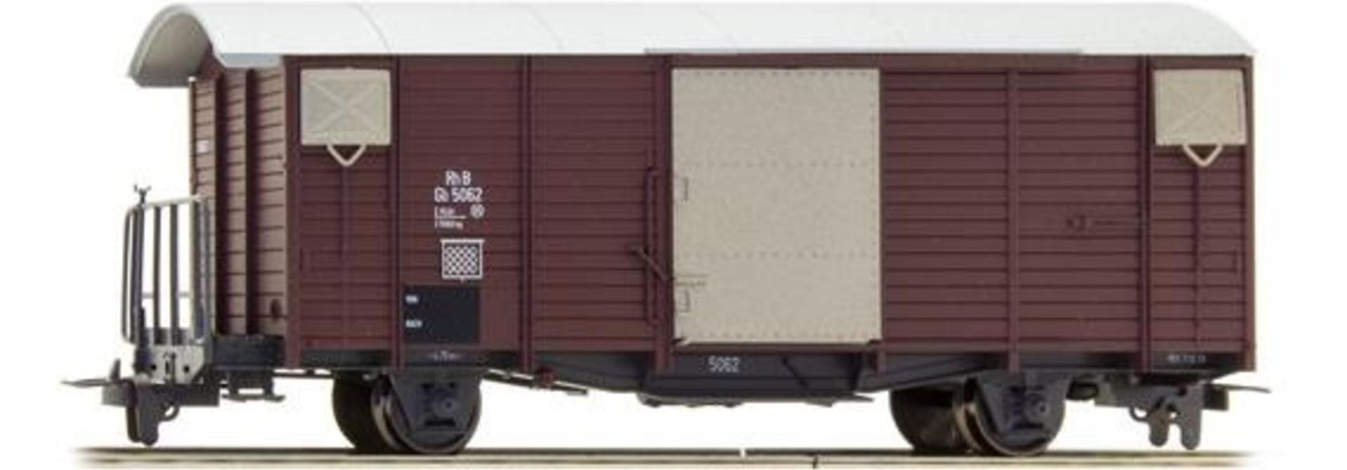 2250102 RhB Gb 5062 ged. Güterwagen 70er Jahre
