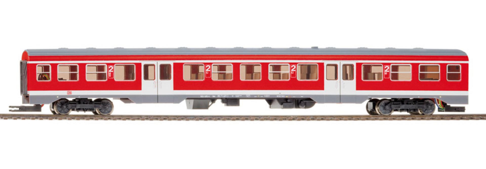 1521840 DB AG 634 655/634 661 Triebwagen verkehrsrot, 3L-WS digital