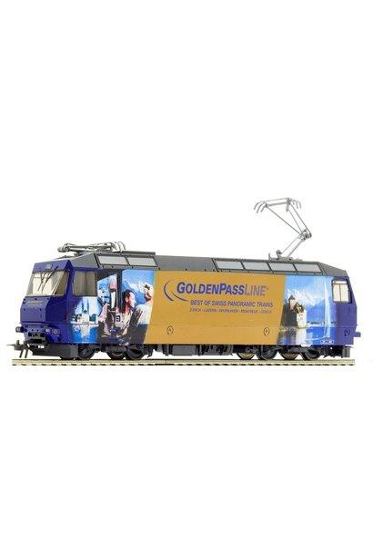 """1459334 MOB Ge 4/4 8004 """"GoldenPassLine"""" H0 3L-WS mit LokSound M4"""