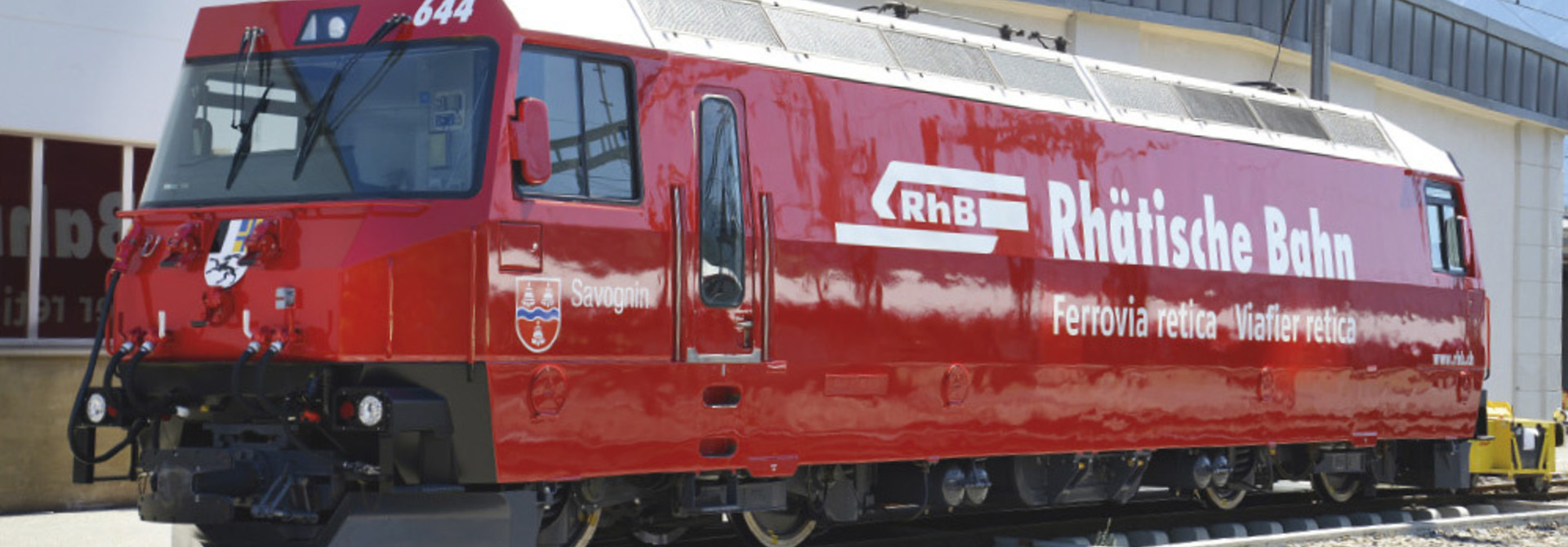 """1459174 RhB Ge 4/4 III 644 """"Rhätische Bahn"""" H0 3L-WS mit LokSound M4"""