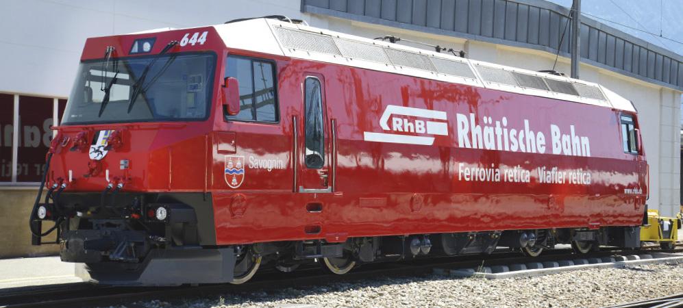 """1459174 RhB Ge 4/4 III 644 """"Rhätische Bahn"""" H0 3L-WS mit LokSound M4-1"""