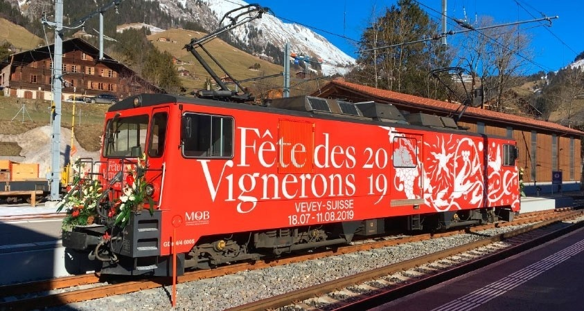 "1380335 MOB GDe 4/4 6005 ""Fête des Vignerons""mit Sound-1"