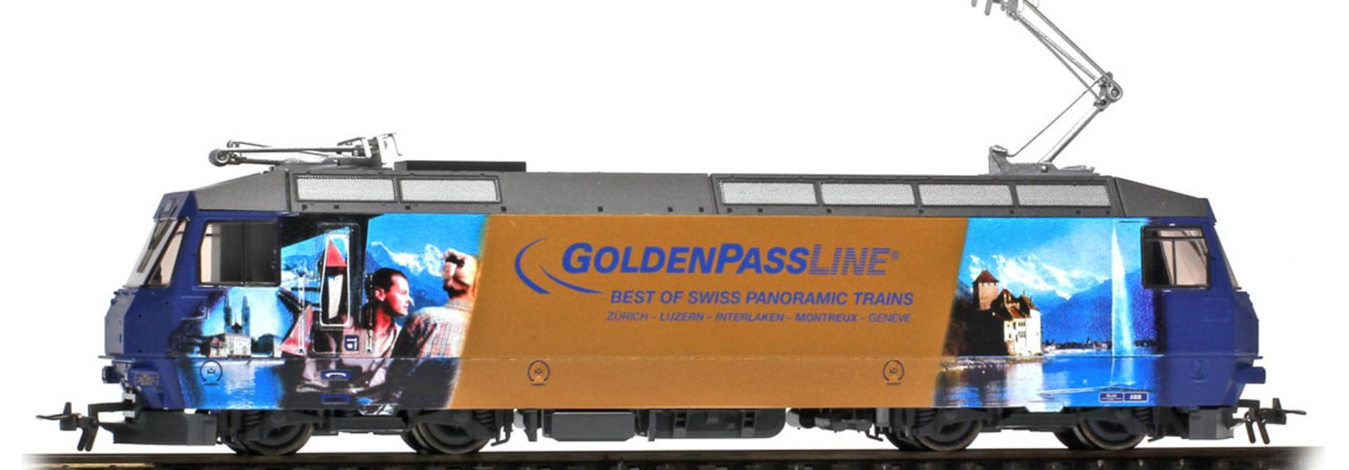 """1359334 MOB Ge 4/4 8004 Universallok """"GoldenPassLine"""" digital"""