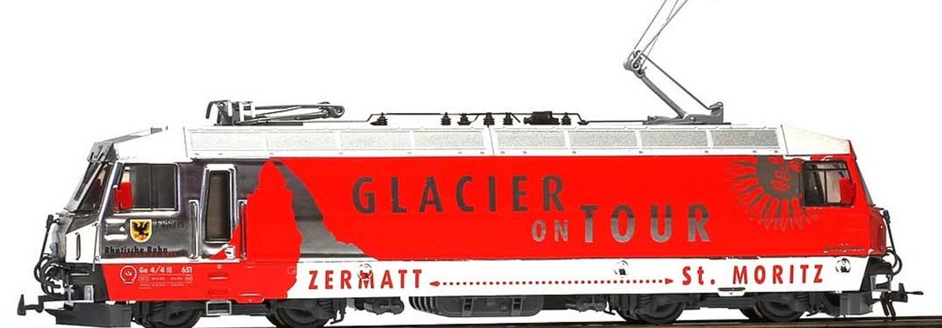 "1359161 RhB Ge 4/4 III 651 ""Glacier on Tour"" mit Sound"