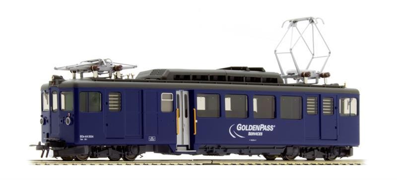 1281334 MOB BDe 4/4 3004 Triebwagen GoldenPass Services-1