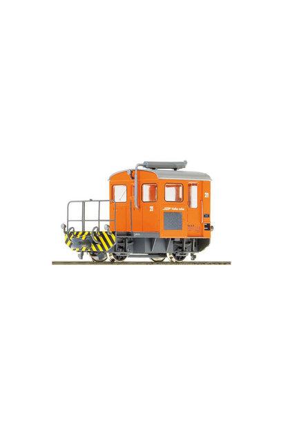 1273131 RhB Tm 2/2 21 Rangiertraktor mit Next18 Schnittstelle