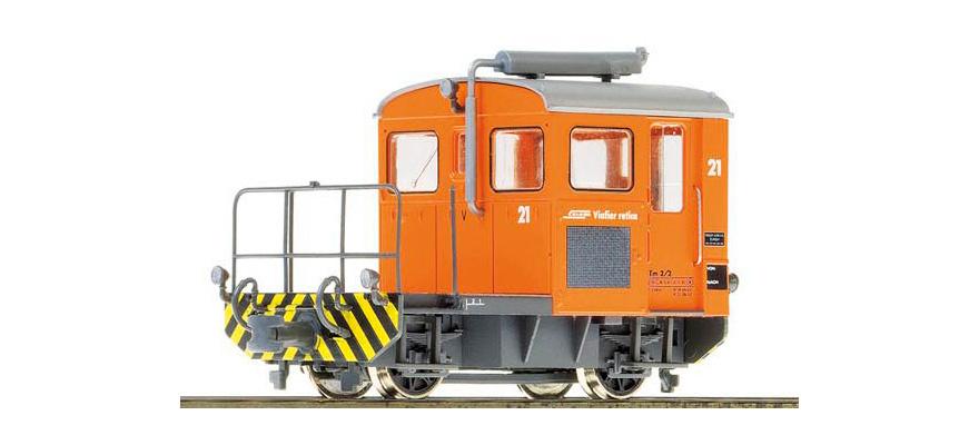 1273131 RhB Tm 2/2 21 Rangiertraktor mit Next18 Schnittstelle-1