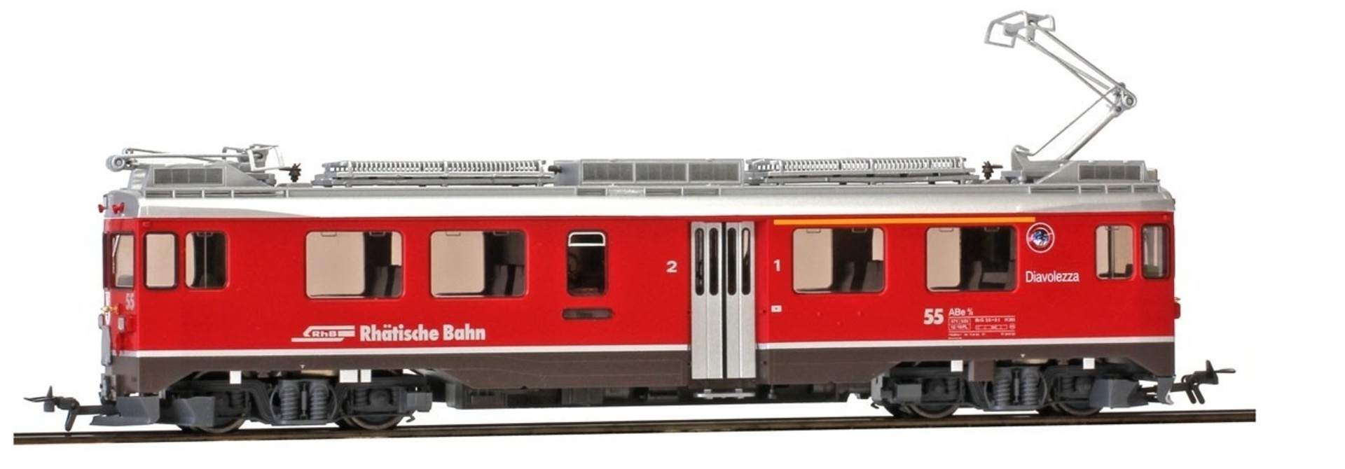 "1269107 RhB ABe 4/4 55 Berninatriebwagen ""Diavolezza"""