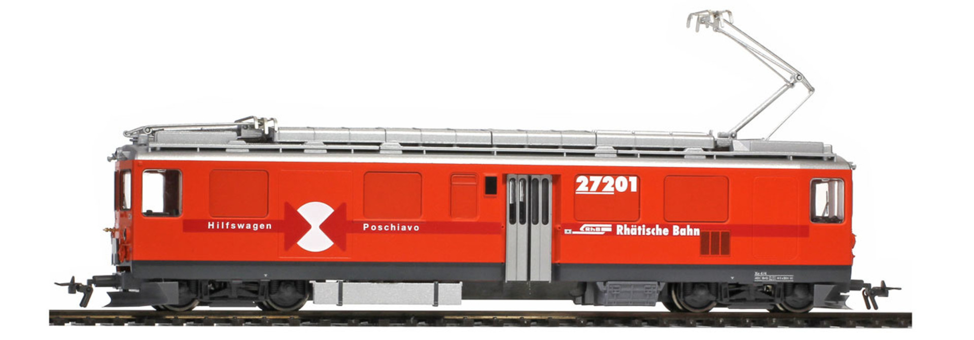 1266153 RhB Xe 4/4 272 01 Bahndiensttriebwagen