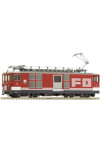 """1264213 FO Deh 4/4 93 Gepäcktriebwagen """"Oberwald"""""""