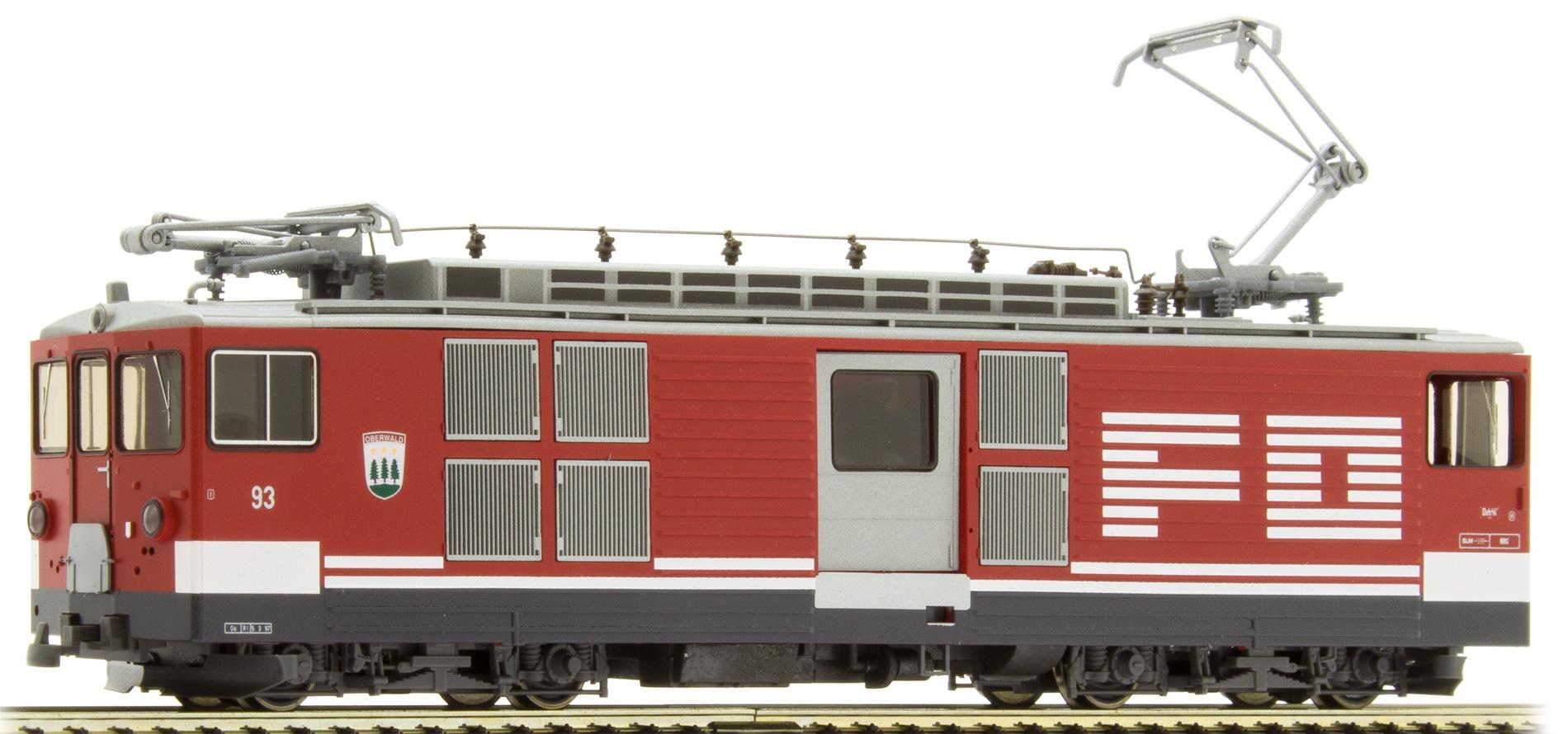 """1264213 FO Deh 4/4 93 Gepäcktriebwagen """"Oberwald""""-1"""