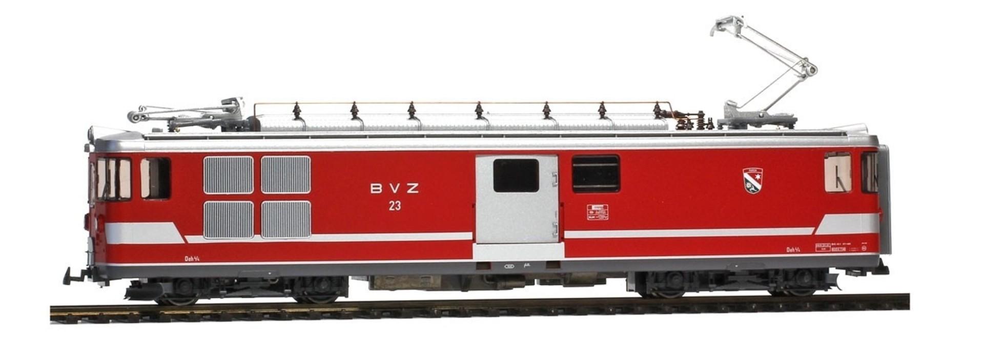 """1263513 BVZ Deh 4/4 23 """"Randa"""" Gepäcktriebwagen"""