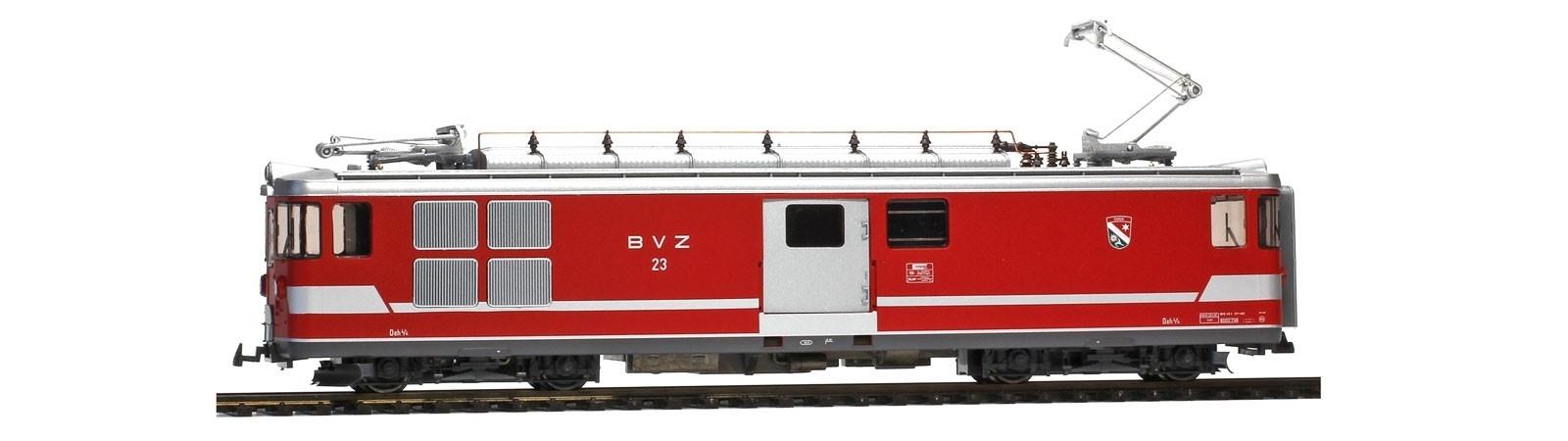 """1263513 BVZ Deh 4/4 23 """"Randa"""" Gepäcktriebwagen-1"""