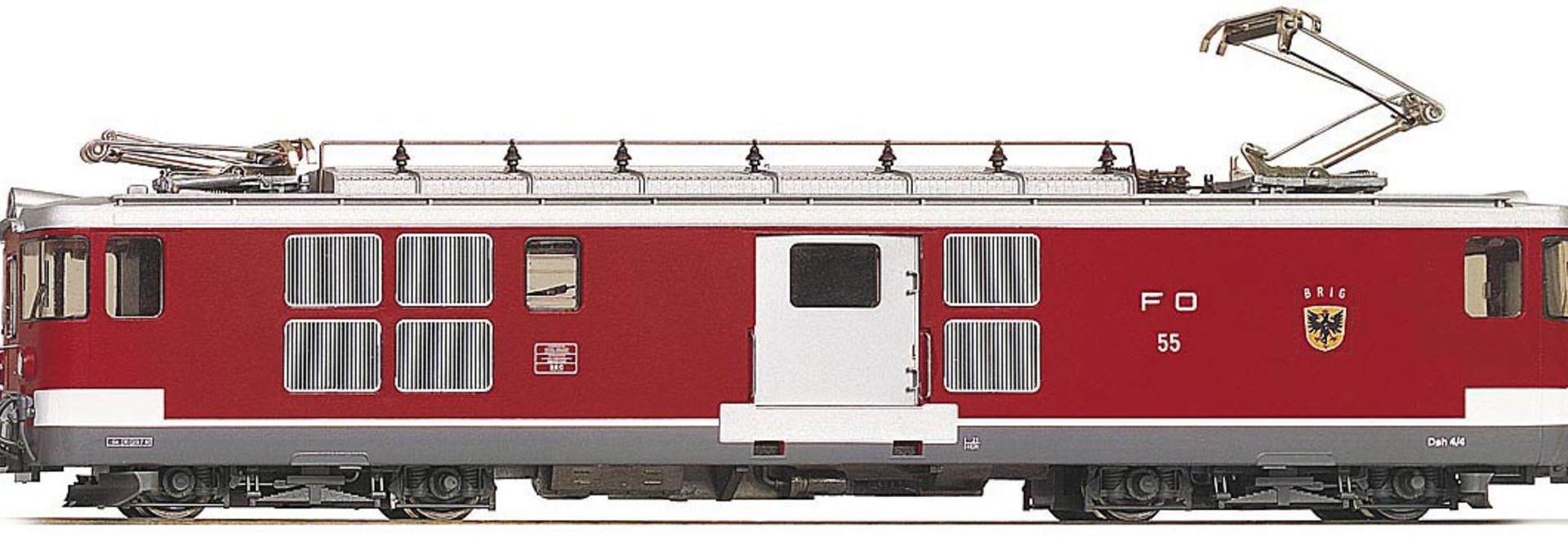 """1263213 FO Deh 4/4 53 """"Urseren"""" Gepäcktriebwagen"""