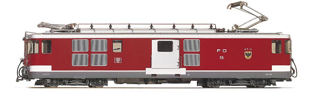 """1263213 FO Deh 4/4 53 """"Urseren"""" Gepäcktriebwagen-1"""