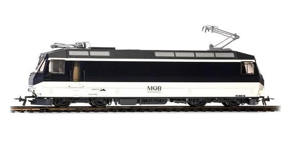 1259351 MOB Ge 4/4 8001 Universallok nachtblau/beige-1
