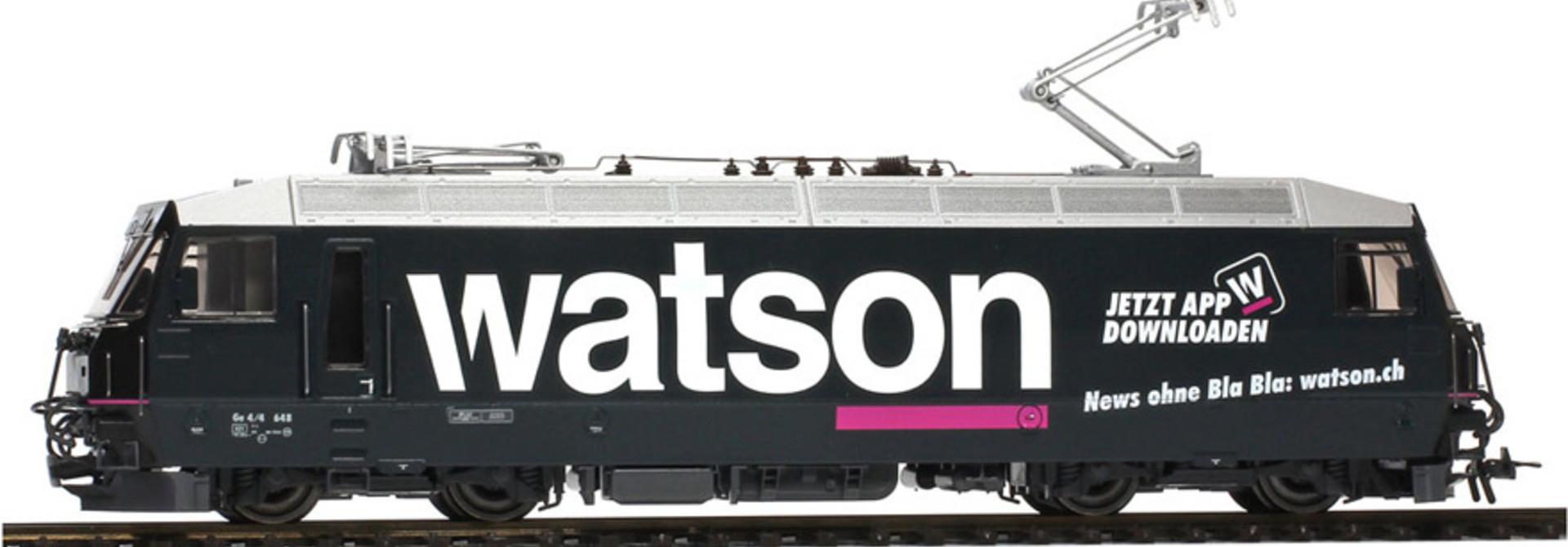 "1259178 RhB Ge 4/4 III 648 Werbelok ""watson"""
