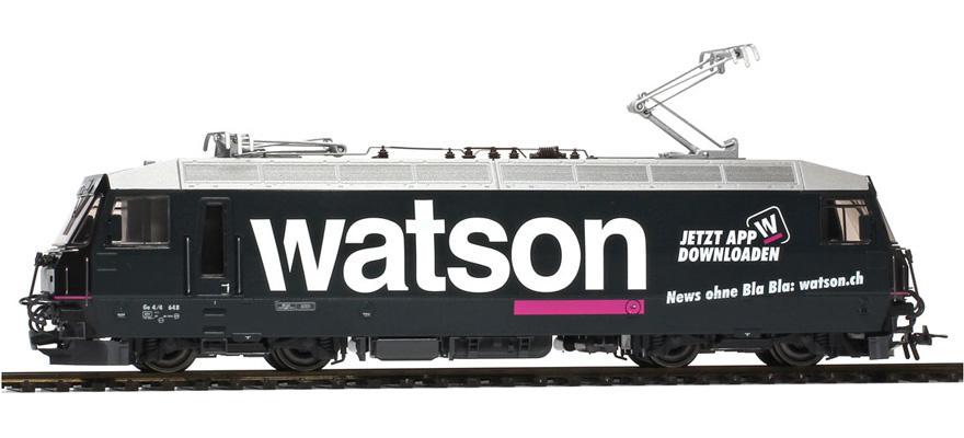 "1259178 RhB Ge 4/4 III 648 Werbelok ""watson""-1"