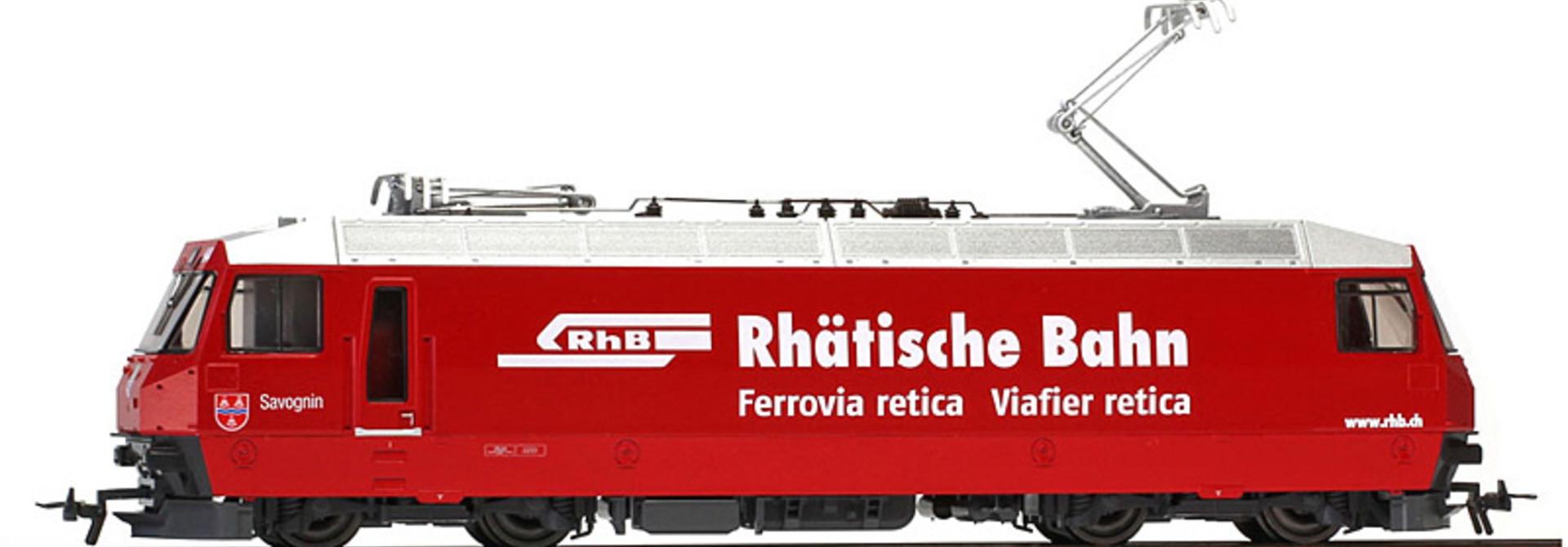 """1259174 RhB Ge 4/4 III 644 Designentwurf """"Savognin"""""""