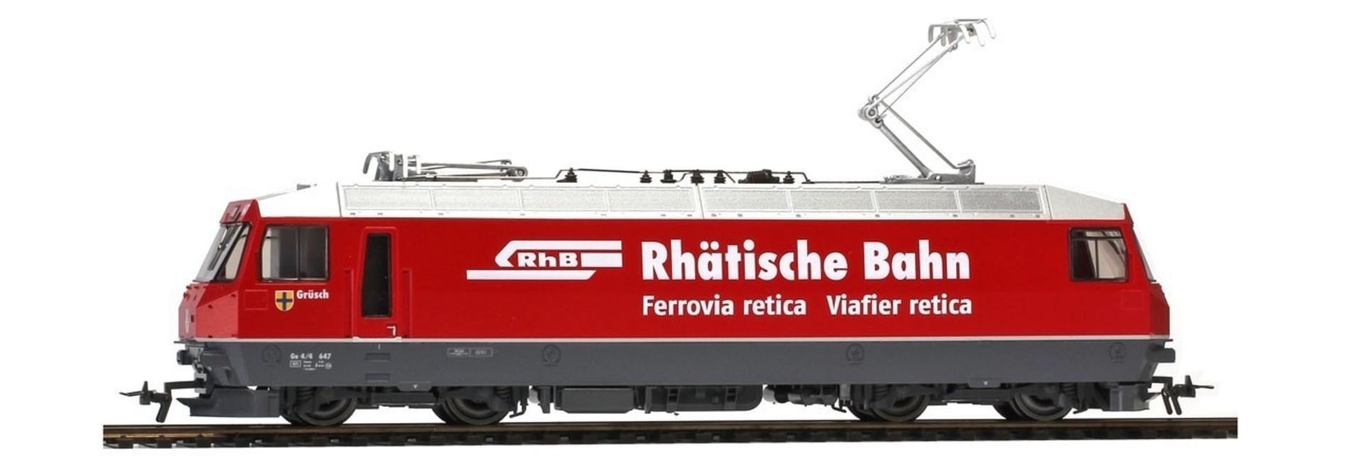 """1259167 RhB Ge 4/4 III 647 """"Rhätische Bahn"""" neurot"""